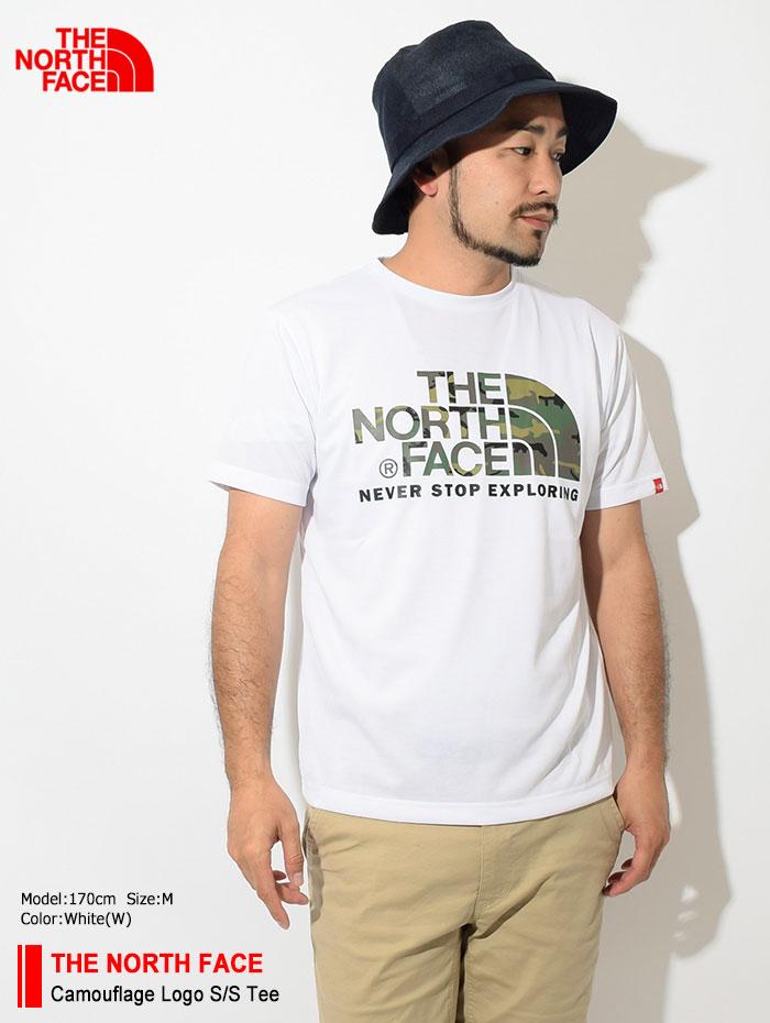 THE NORTH FACEザ ノースフェイスのTシャツ Camouflage Logo01