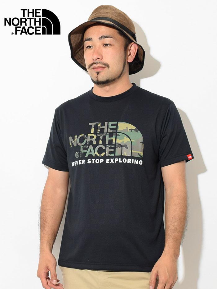 THE NORTH FACEザ ノースフェイスのTシャツ Camouflage Logo02