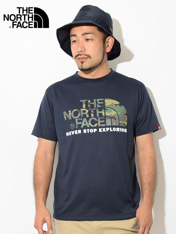 THE NORTH FACEザ ノースフェイスのTシャツ Camouflage Logo03