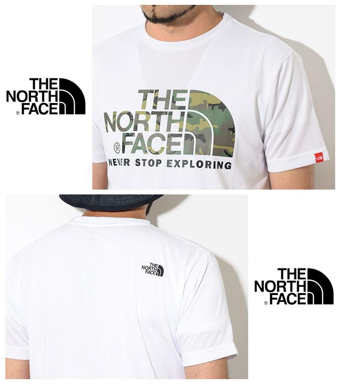 THE NORTH FACEザ ノースフェイスのTシャツ Camouflage Logo04