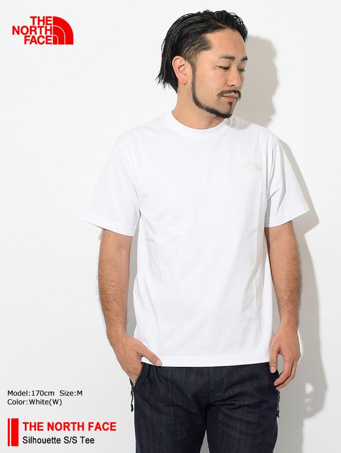 THE NORTH FACEザ ノースフェイスのTシャツ Silhouette01