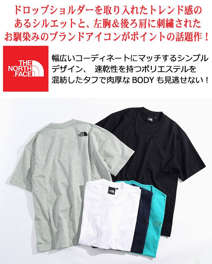 THE NORTH FACEザ ノースフェイスのTシャツ Silhouette02