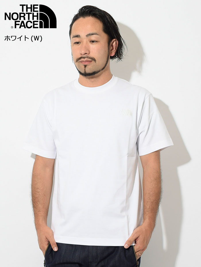 THE NORTH FACEザ ノースフェイスのTシャツ Silhouette03