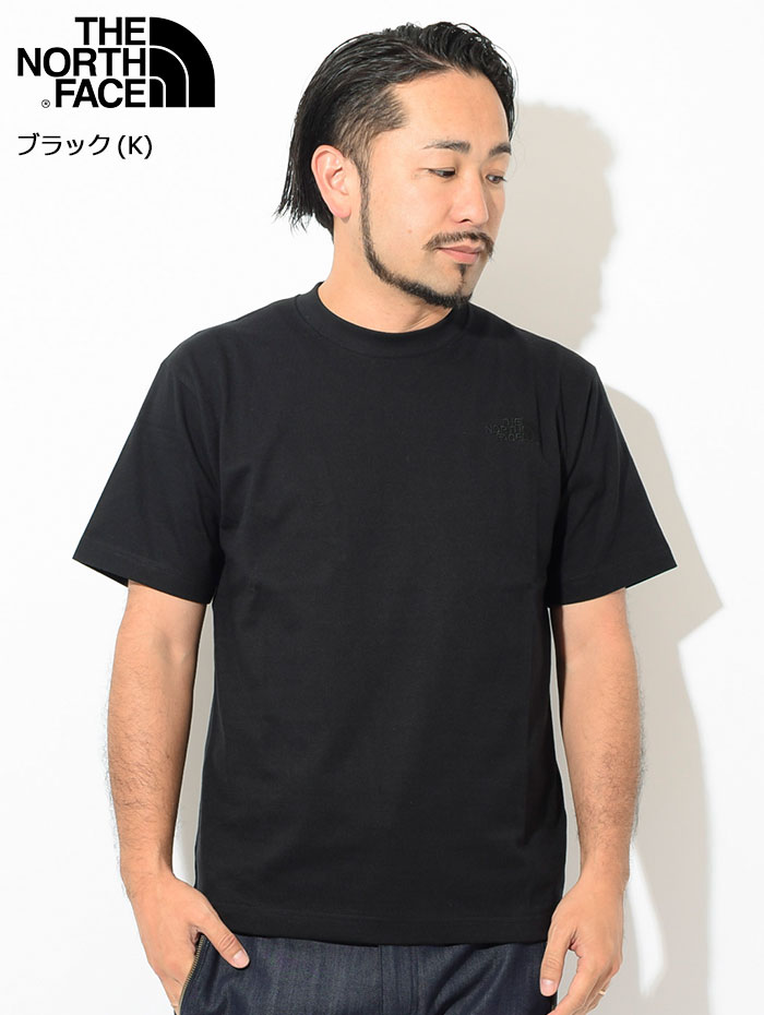 THE NORTH FACEザ ノースフェイスのTシャツ Silhouette04