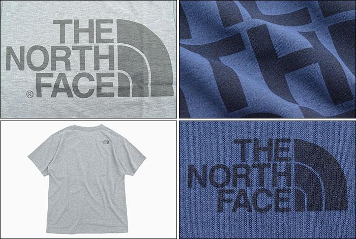 THE NORTH FACEザ ノースフェイスのTシャツ Color Heather Logo05