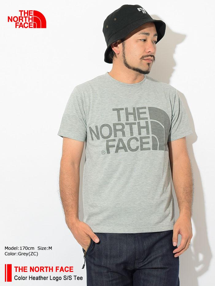 THE NORTH FACEザ ノースフェイスのTシャツ Color Heather Logo01