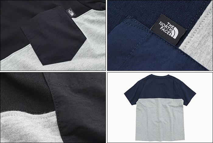 THE NORTH FACEザ ノースフェイスのTシャツ 2 Tone Pocket04