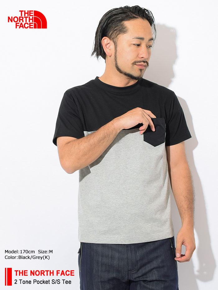 THE NORTH FACEザ ノースフェイスのTシャツ 2 Tone Pocket01