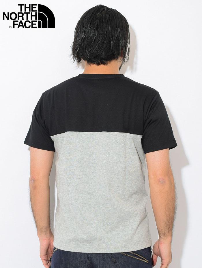THE NORTH FACEザ ノースフェイスのTシャツ 2 Tone Pocket02