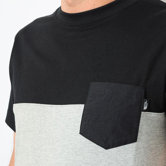 THE NORTH FACEザ ノースフェイスのTシャツ 2 Tone Pocket03