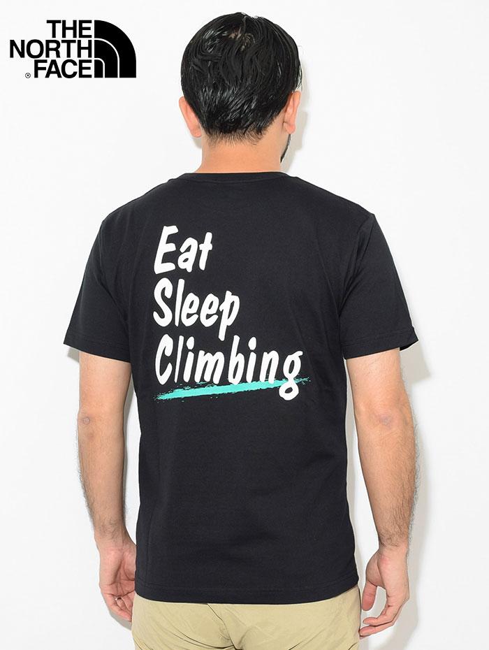 THE NORTH FACEザ ノースフェイスのTシャツ Climbing Lifer02
