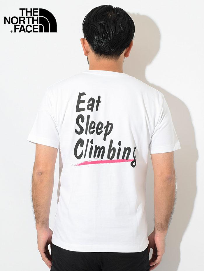 THE NORTH FACEザ ノースフェイスのTシャツ Climbing Lifer04
