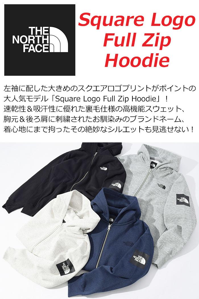 THE NORTH FACEザ ノースフェイスのパーカー Square Logo Full Zip Hoodie02