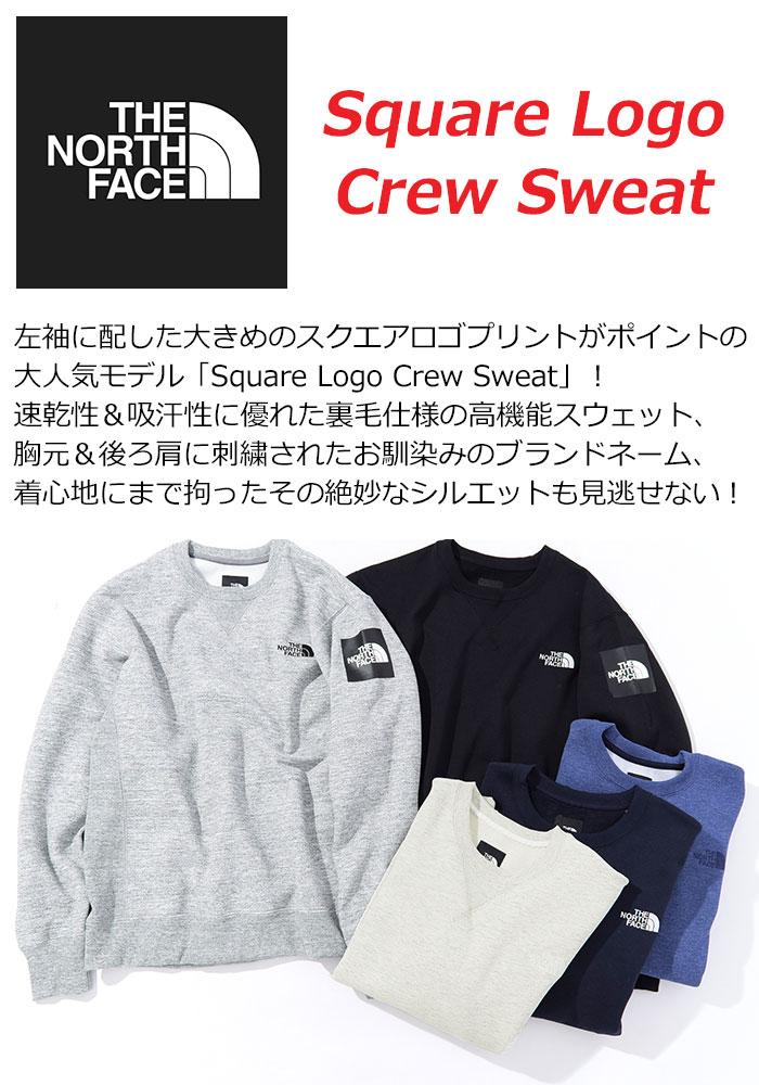 THE NORTH FACEザ ノースフェイスのトレーナー Square Logo Crew Sweat02