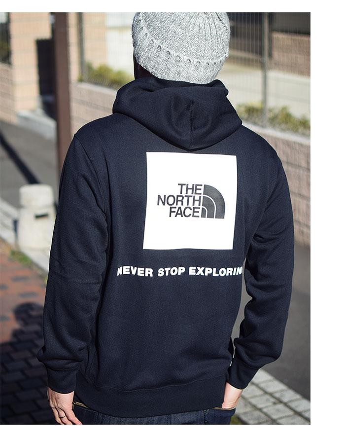 THE NORTH FACEザ ノースフェイスのパーカー Back Square Logo Hoodie03