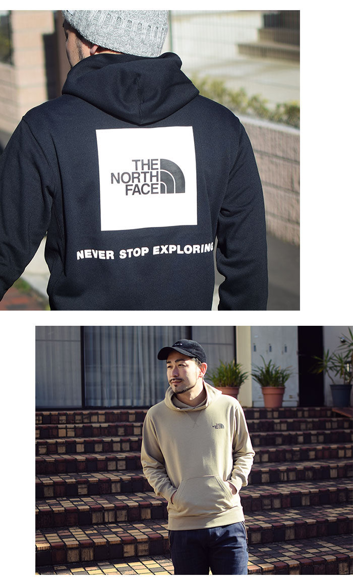 THE NORTH FACEザ ノースフェイスのパーカー Back Square Logo Hoodie07