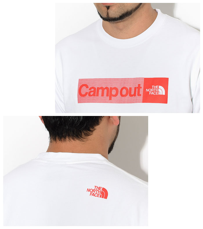 THE NORTH FACEザ ノースフェイスのTシャツ Campout02