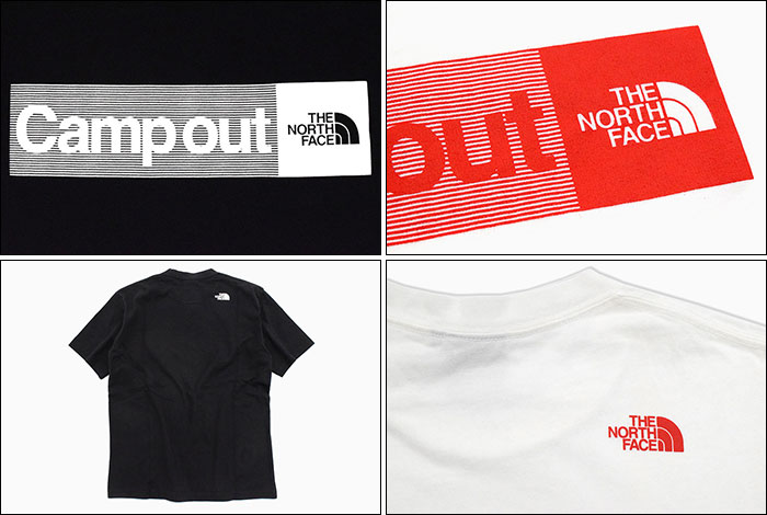 THE NORTH FACEザ ノースフェイスのTシャツ Campout03
