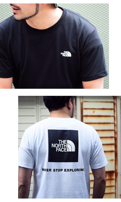 THE NORTH FACEザ ノースフェイスのTシャツ Back Square Logo04