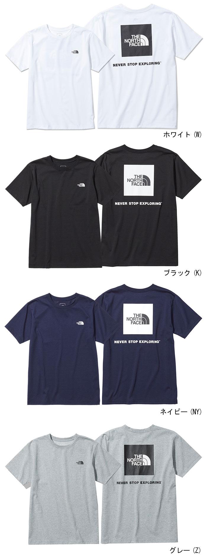 THE NORTH FACEザ ノースフェイスのTシャツ Back Square Logo06