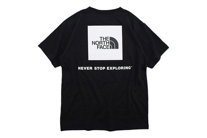THE NORTH FACEザ ノースフェイスのTシャツ Back Square Logo08