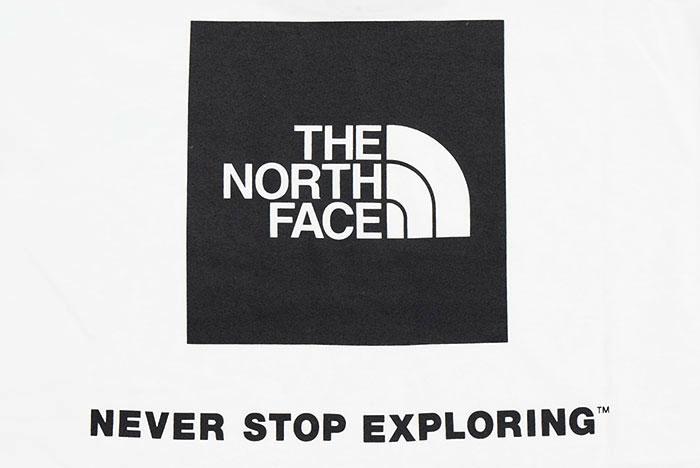 THE NORTH FACEザ ノースフェイスのTシャツ Back Square Logo09