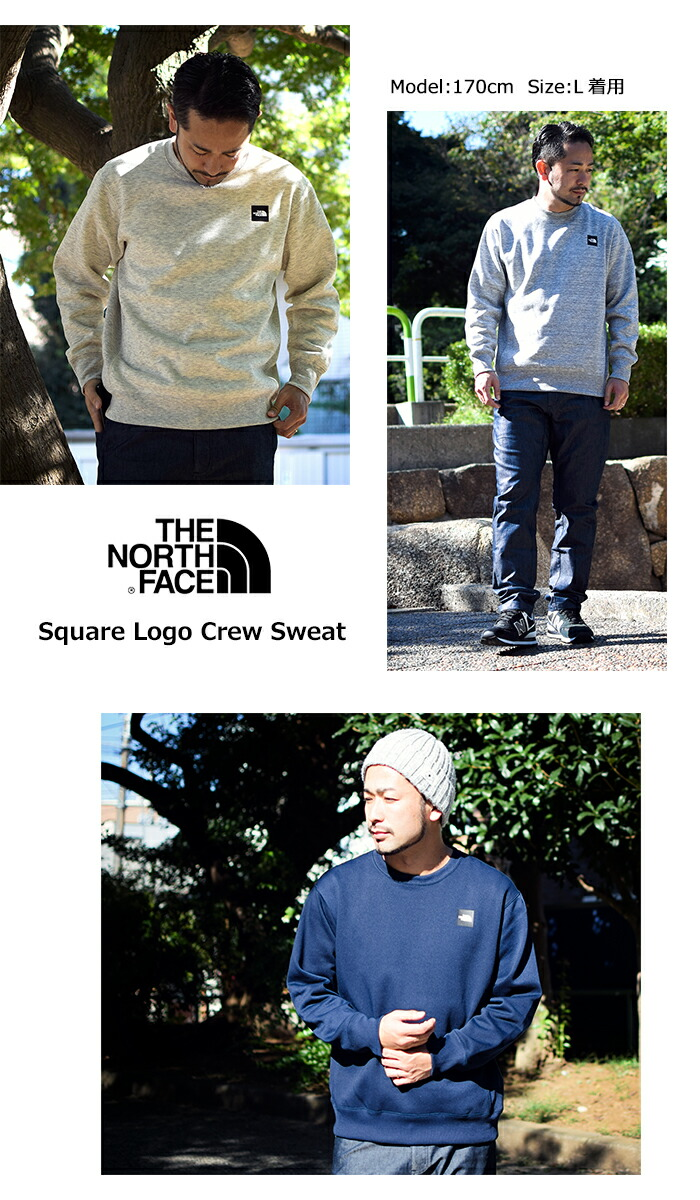 THE NORTH FACEザ ノースフェイスのトレーナー Square Logo Crew Sweat06