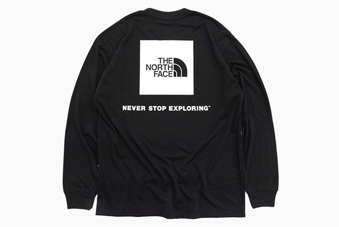 THE NORTH FACEザ ノースフェイスのTシャツ Back Square Logo11