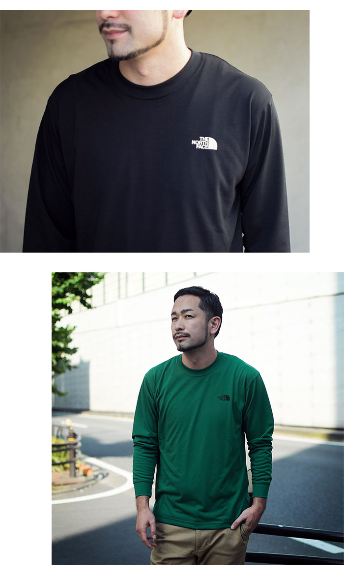 THE NORTH FACEザ ノースフェイスのTシャツ Back Square Logo04