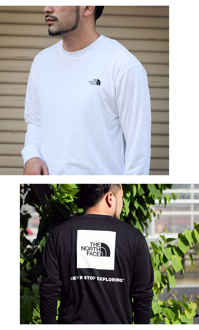 THE NORTH FACEザ ノースフェイスのTシャツ Back Square Logo07