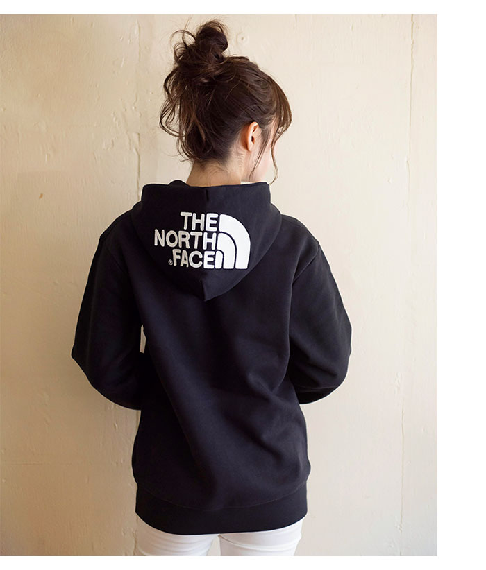 THE NORTH FACEザ ノースフェイスのパーカー リアビュー09