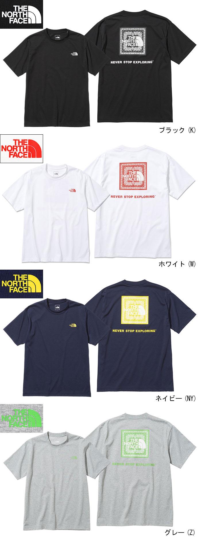 THE NORTH FACEザ ノースフェイスのTシャツ Bandana Square Logo12