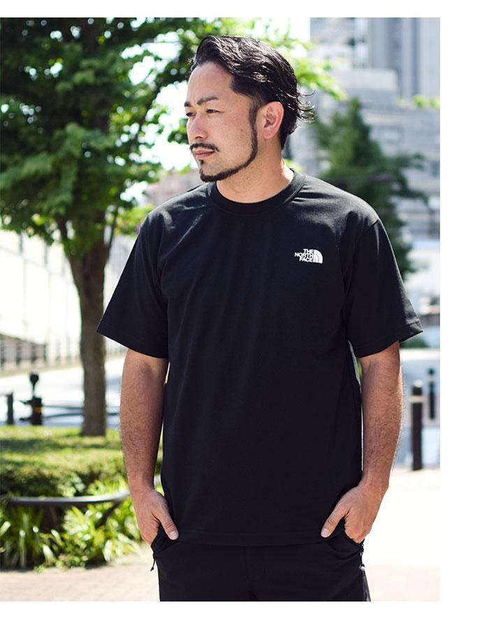 THE NORTH FACEザ ノースフェイスのTシャツ Bandana Square Logo02