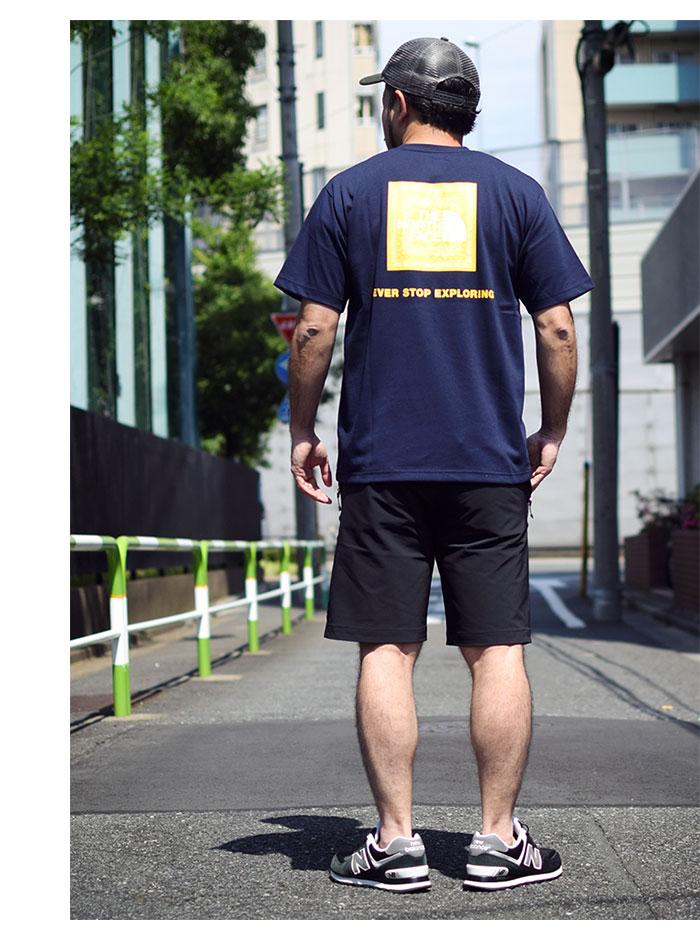 THE NORTH FACEザ ノースフェイスのTシャツ Bandana Square Logo04