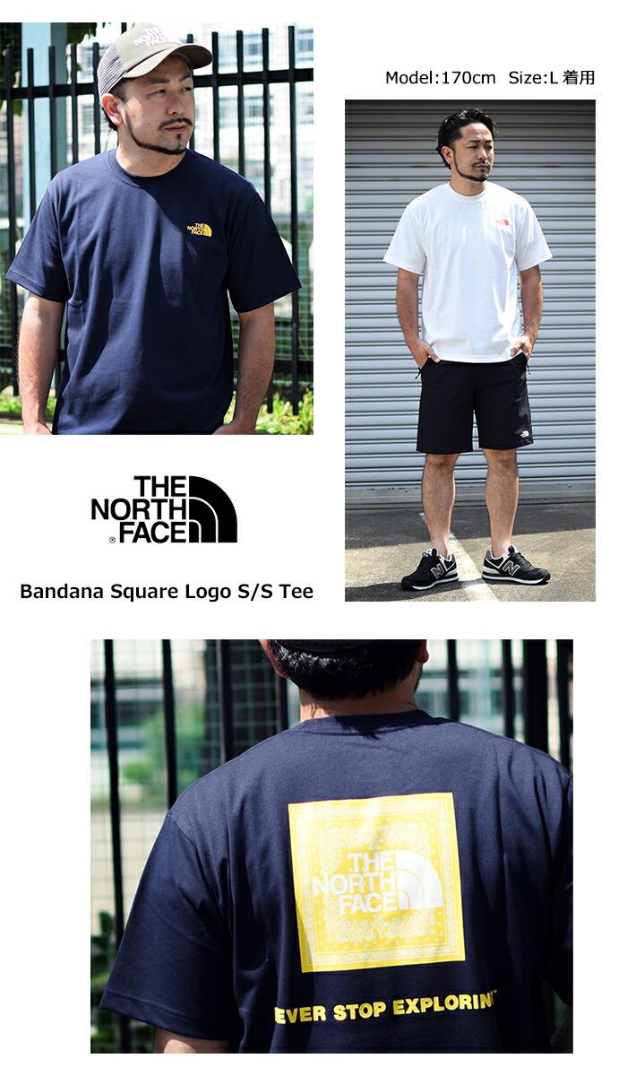 THE NORTH FACEザ ノースフェイスのTシャツ Bandana Square Logo05