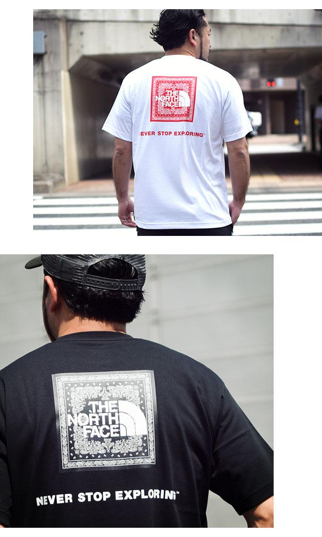 THE NORTH FACEザ ノースフェイスのTシャツ Bandana Square Logo07
