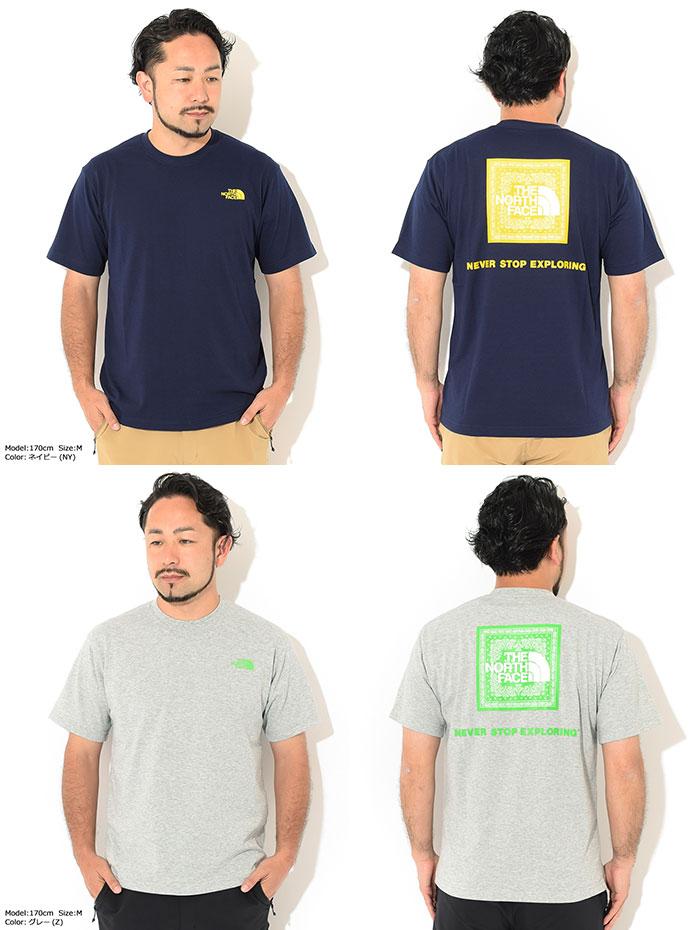 THE NORTH FACEザ ノースフェイスのTシャツ Bandana Square Logo09