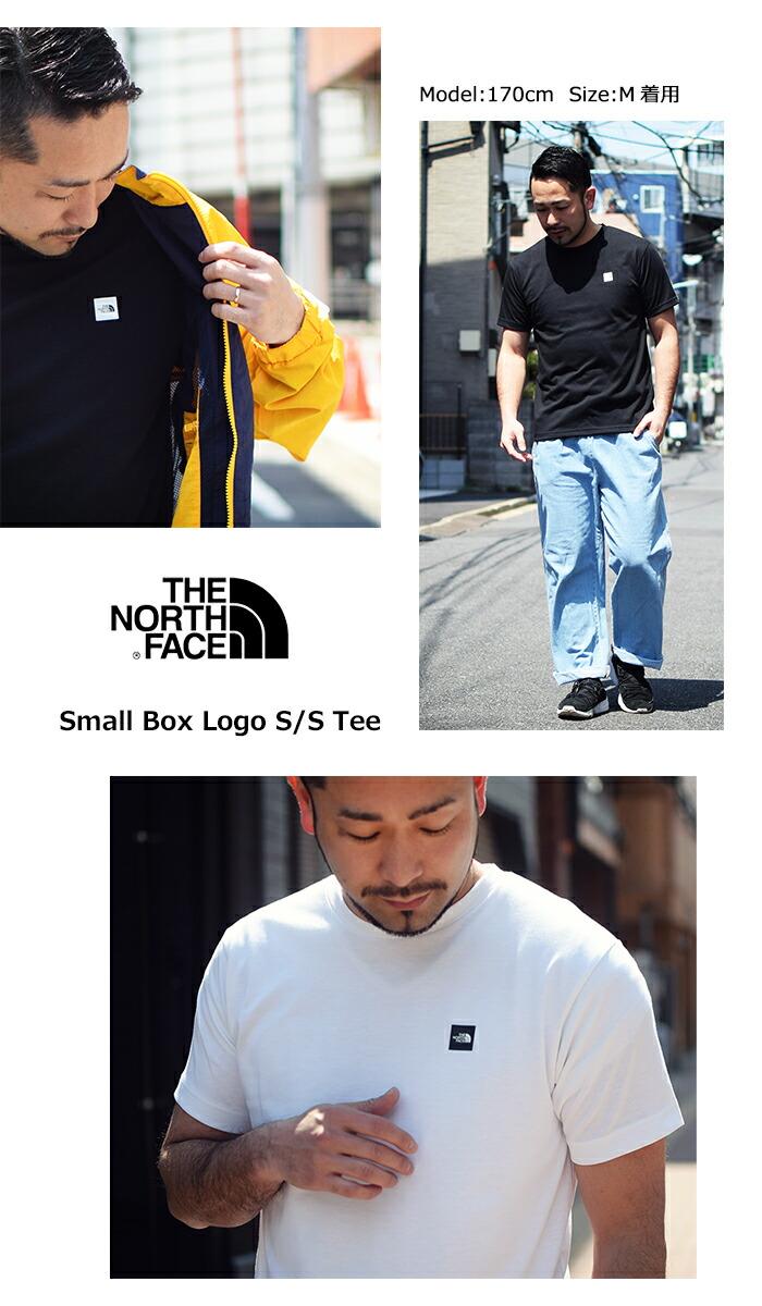 THE NORTH FACEザ ノースフェイスのTシャツ Small Box Logo05