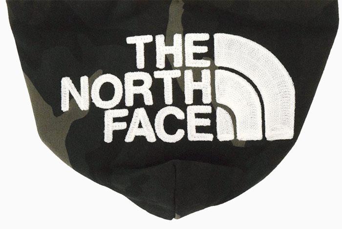 THE NORTH FACEザ ノースフェイスのパーカー ノベルティ リアビュー09