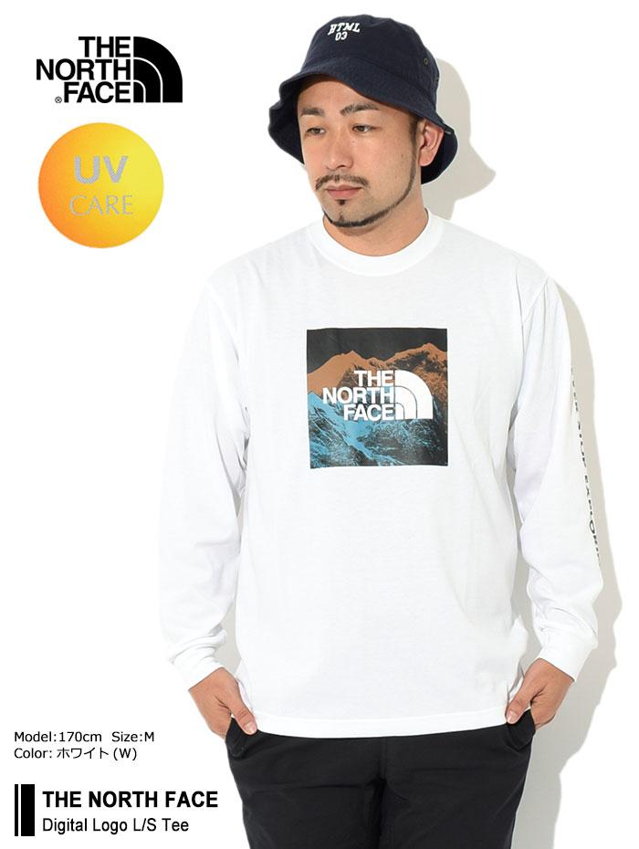 THE NORTH FACEザ ノースフェイスのTシャツ Digital Logo01