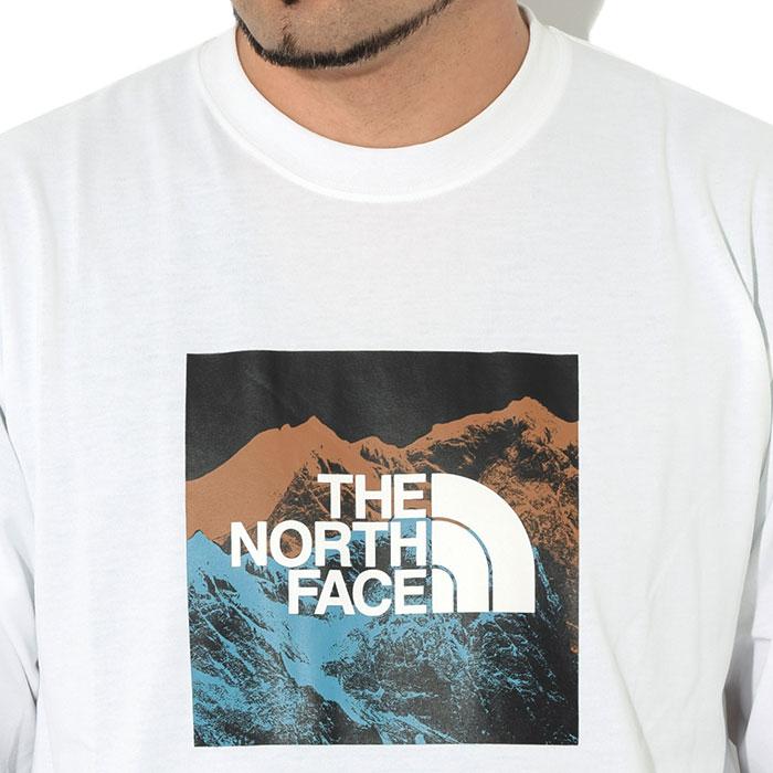 THE NORTH FACEザ ノースフェイスのTシャツ Digital Logo05