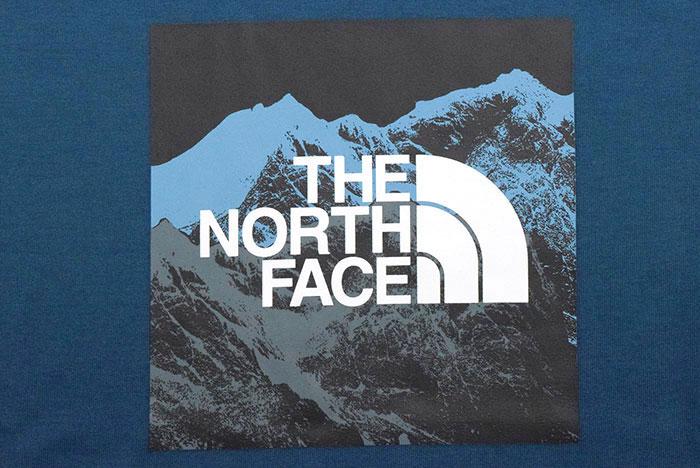 THE NORTH FACEザ ノースフェイスのTシャツ Digital Logo09