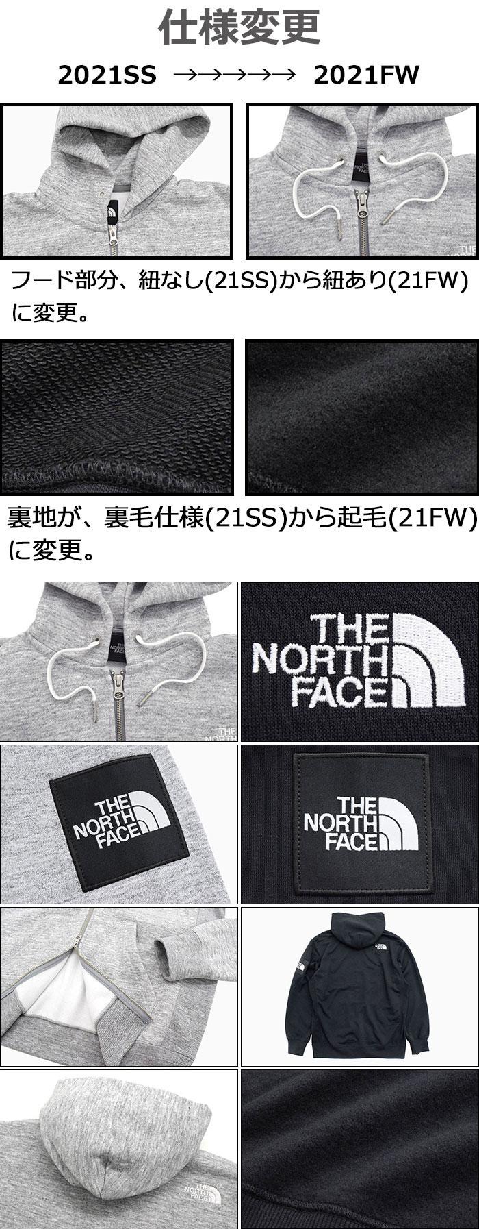 THE NORTH FACEザ ノースフェイスのパーカー Square Logo Full Zip Hoodie19