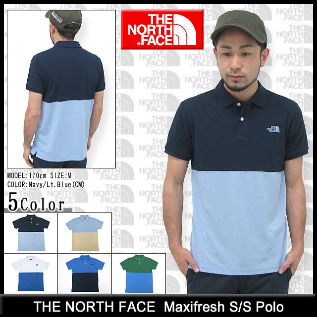 a8bd2e2bf A the North Face THE NORTH FACE polo shirt short sleeves men maxi fresh  panel (Maxifresh Panel S/S Polo polo picket fawn tops NT21842 the north  face ...