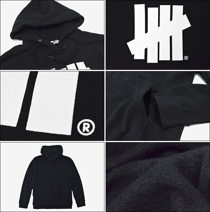 UNDEFEATEDアンディフィーテッドのパーカー 5 Strike Pullover Hoodie02