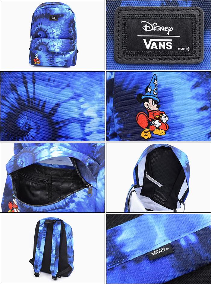 VANSバンズのリュック Disney Old Skool II Mickey Fantasia Tie Dye Backpack02