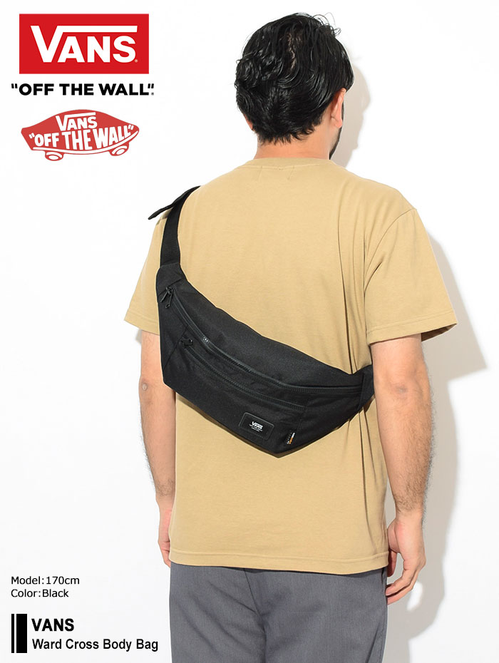 VANSバンズのボディバッグ Ward Cross Body Bag01