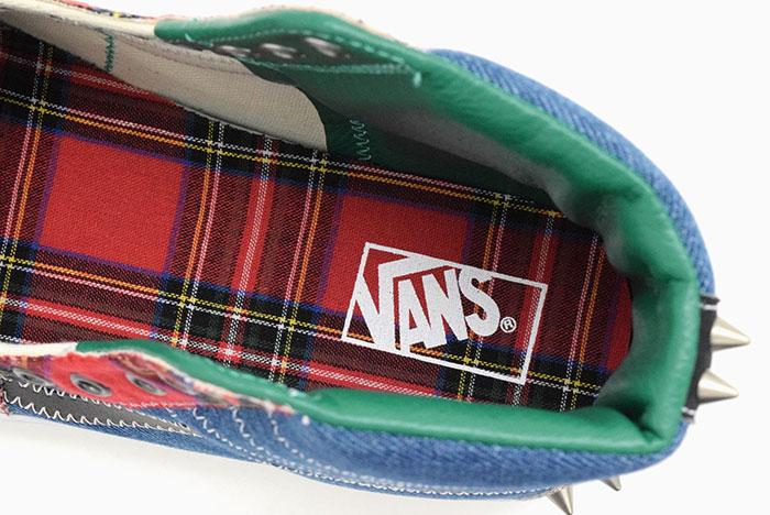 VANSバンズのスニーカー スケートハイ10