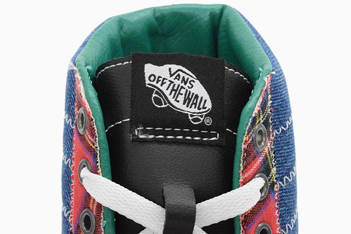 VANSバンズのスニーカー スケートハイ06