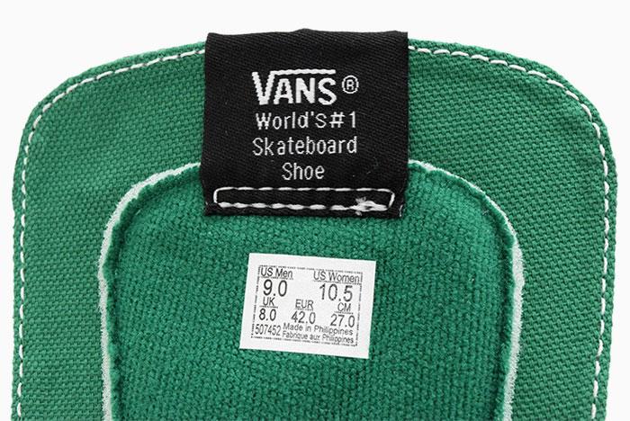 VANSバンズのスニーカー スケートハイ09